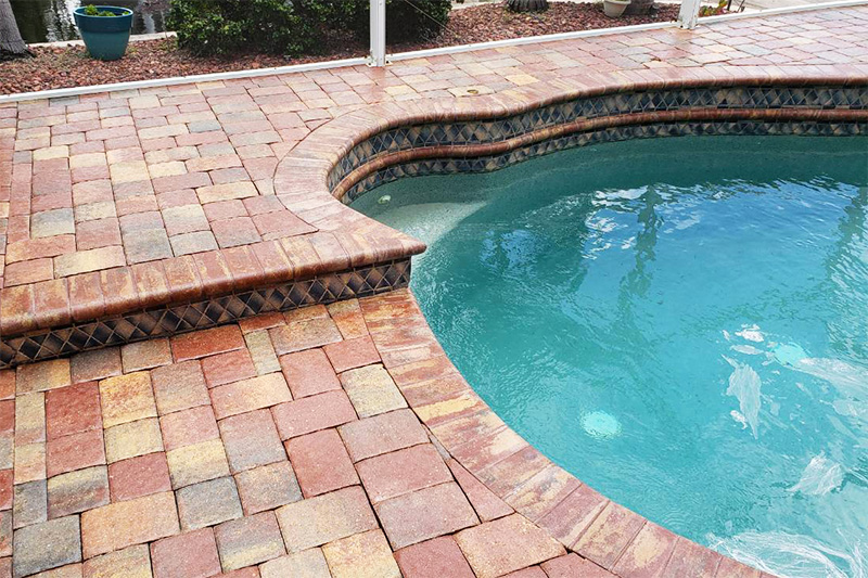 Pool Deck Cleaned and Sealed
