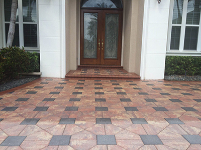 Natural Stone Interlocking Pavers
