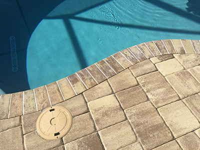 Natural Stone Pool Deck